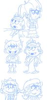 TLH - LaLa - Cousins Sketch by Thuledrawer09