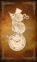 Steampunk Clockwork Mouse by EpHyGeNiA
