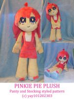 Pinkie Panty and Stocking plushie by Chanditoys