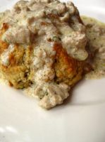 Biscuits 'n Gravy by acquiredflavor