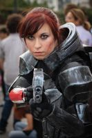 MASS EFFECT 3 FemShep @ A GEEKY SUNDAY 2013 by NikyHeaven