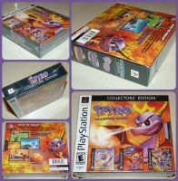 ( Spyro ) Collector's Edition CD Set by KrazyKari