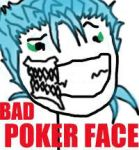 Grimmjow Bad Poker Face by G--Shadow