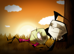 Autumn Evening by Invader--ZIM