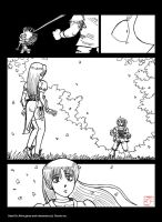 Kasumi Meets Ein by avary