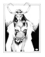 LOKI_Mistress of Evil by MichaelBair