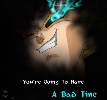 Vegeta ~ A Bad Time (Version 1) by OnlyIfItsFluffy