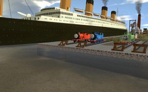 The RMS Titanic by Mk513