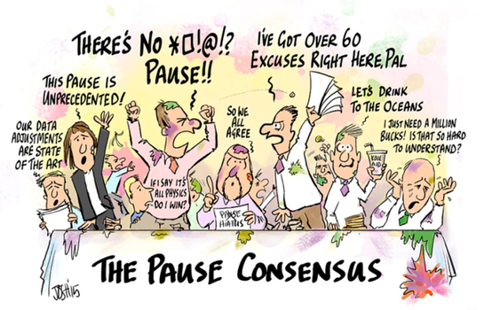 The 'Consensus' Admits the Pause was REAL by Kajm