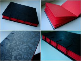handmade book 26 by darkest-red
