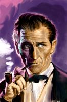 Peter Cushing by JamesPeterMcDermott