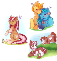 MLP: Sketch Pony Batch 3 by strawberryneko33