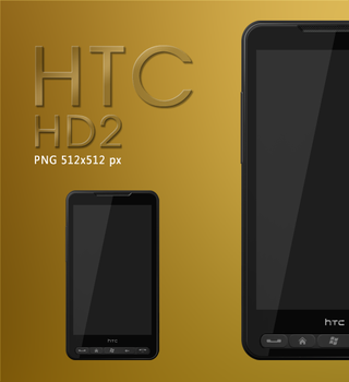HTC HD2 single icon by Redmile