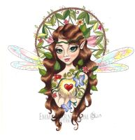Forest fairy by Warnstrom