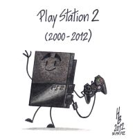 RIP PlayStation 2 by HaBer44