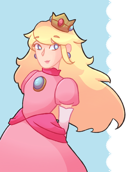 Peachy ! by iguanasarerad