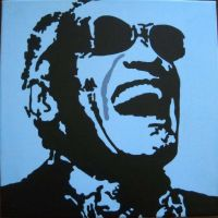 Ray Charles by wttrya002