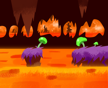 Lava Concept 1 Color by Cansin13Art