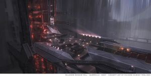 Helghast ATAC tower platform (top view) by RDumont