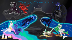 DARK CONFLICT Chapter 1 by SixSamMaster