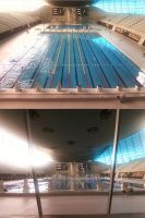 London Aquatics Centre, Stratford, Essex. by DoctorWhoOne