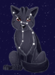 Lupus constellation by Leafeony