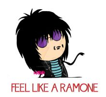 Feel like a Ramone by Roronoa-Minamino