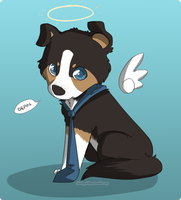 Castiel puppy by phillipant