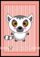 Kawaii Lemur by martagd