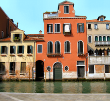 Across a Canal in Venice by JJPoatree