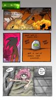 Sonic Comic page 1 by Looby-the-Pirate