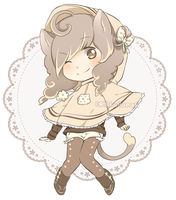 Milk-Chocolat adopt -AUCTION Closed- by RikkuHanari