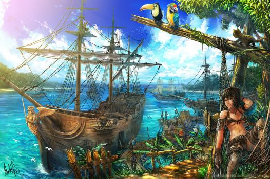Pirate Haven by MeganeRid