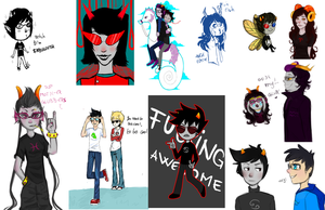 homestuck dump by Atherra