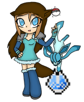 Pixelmon: Ice Gym leader by Chaos55t