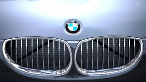 BMW M5 - Moustache Grill by MercilessOne