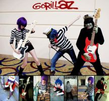 GoRiLLaZ Wallpaper 6 by Kittykattykitkat