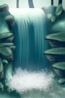 Swampy Waterfall by luneu