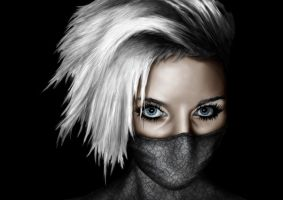 Female Kakashi look a like by jensduchateau