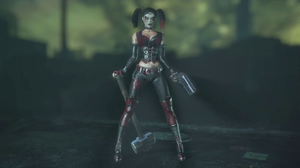 Batman Arkham City: Mourning Harley by TheRumbleRoseNetwork