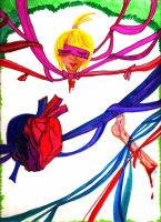 Tied up heart by DistortedAlice