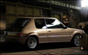 Peugeot 205 by Hossworks