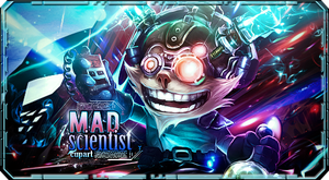 Mad scientist  by MARKCAPE