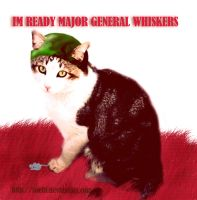 Im ready major general whiskers by Zoehi