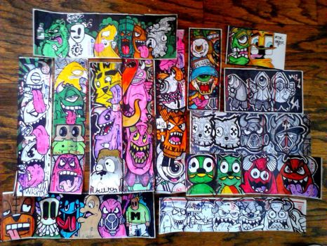 graffiti collabs by wizard1labels