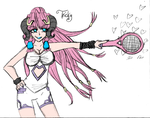 ++Tennis Chalis++ by CrimsonValefor
