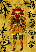 Samurai samus by babyblisblink