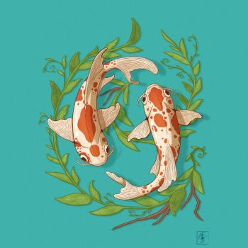 Koi 2 by IgorSan