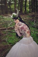 Lady of the woods 2 by Estelle-Photographie