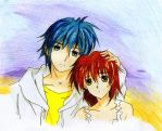 Tomoya_and_Nagisa__Clannad by Oilbhe